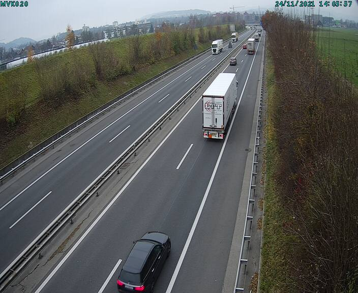 A2 Tunnell Mariazell > Sursee